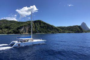 Katamaranausflug St. Lucia