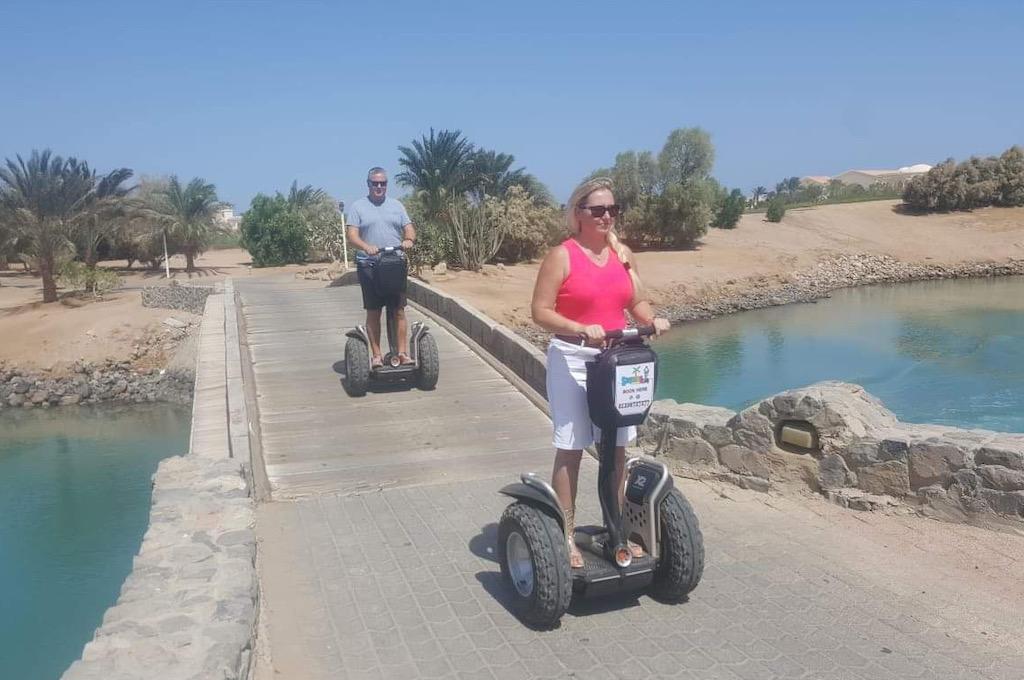 Segwaytour durch die Lagunenstadt El Gouna