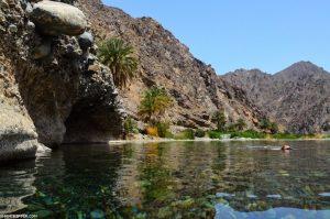 Wadi Abyadh und Wakan