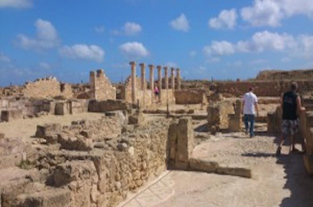 Paphos mit Königsgräbern & Mosaike