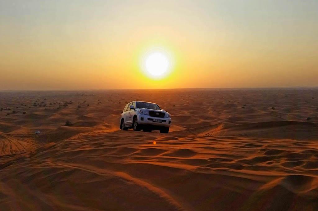 Jeep Safari am Morgen